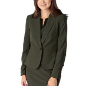 Nine West Olive Coloured Stretch Jacket NWT